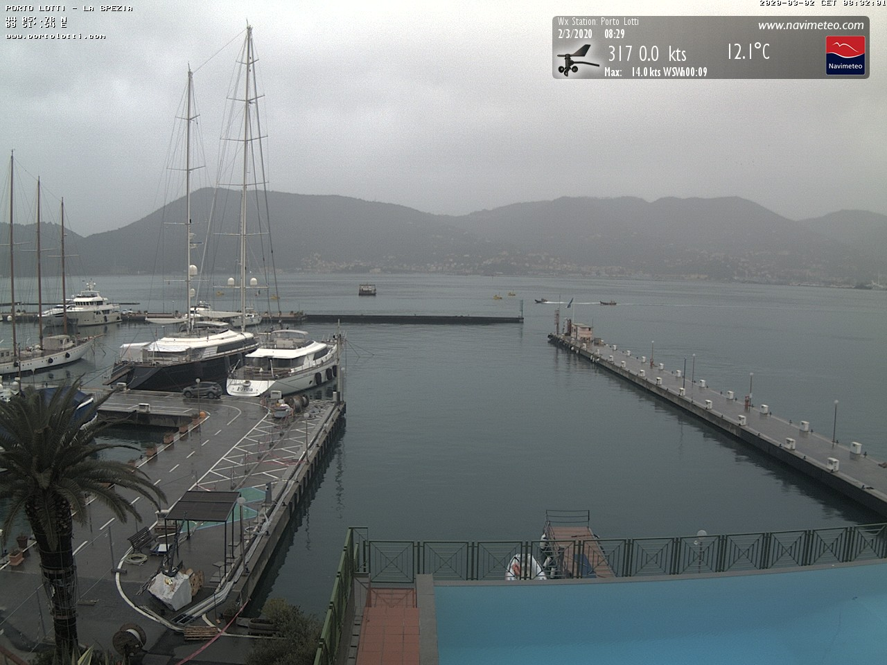 Webcam Portolotti La Spezia